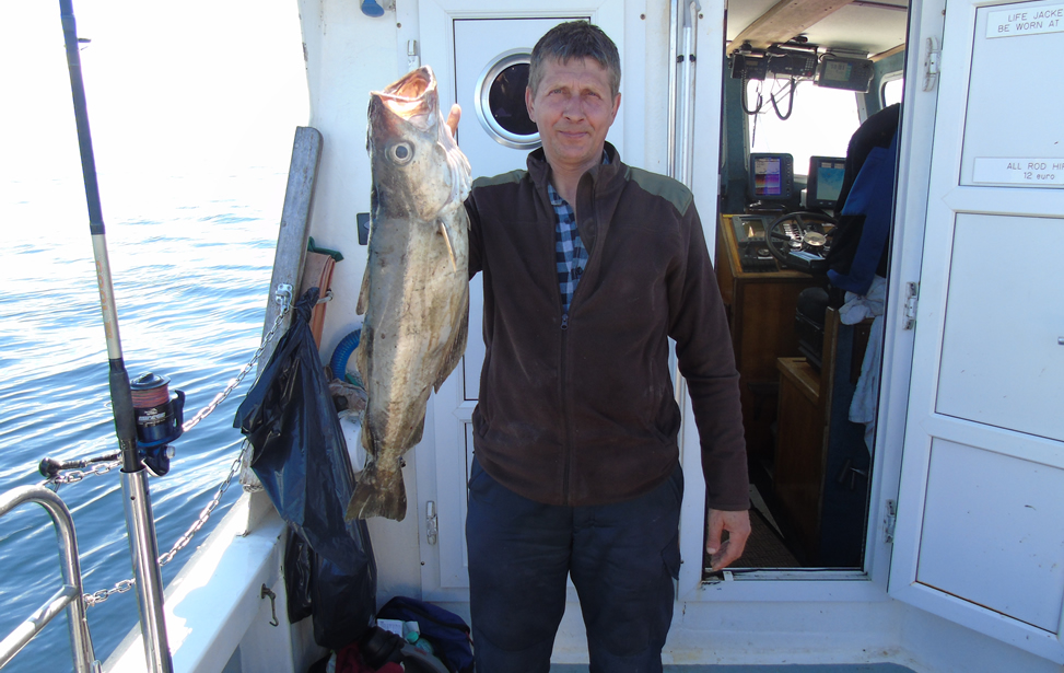 Angling charter in Killybegs